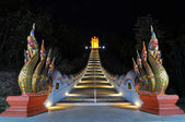 Night Naga stairs — Stock Photo