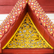 Gable detail  — Stock Photo