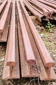 Old train rails — Стоковое фото