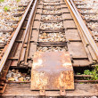 Junction railway tracks — Stock Photo #28562487