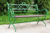Silla verde — Foto de Stock