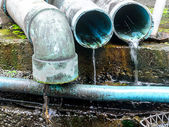 Waste pipe — Stock Photo
