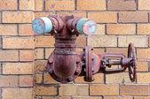 Antigos pontos de hidrante — Foto Stock