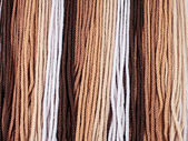 Gradient brown rope — Stockfoto