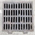 Manhole cover — Stock Photo