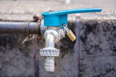 Faucet water supply — ストック写真
