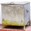 Stock Photo: Vintage ice chest