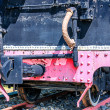 Vintage steam locomotive — Stockfoto #33160497