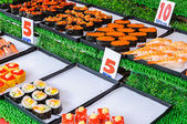 Comida japonesa — Fotografia Stock