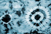Texture tie dyed fabric — Stock Photo