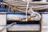 Close up winch — Foto de Stock