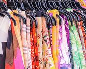 красочные ткани — Стоковое фото