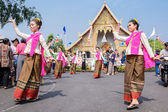 Thai woman dancer — Stock Photo