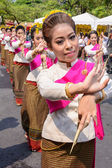 Thai woman dancer — Stock Photo