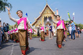 Thai woman dancer — Stockfoto