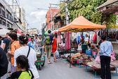Walking street market. — Stock Photo