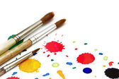 Brashes for paint — Stock Photo
