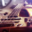 Stock Photo: Bass guitar