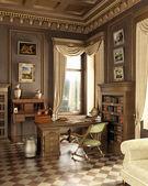 Classic old studio room. — Stock Photo