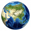 Stock Photo: Earth globe, realistic 3 D rendering. Asiview.