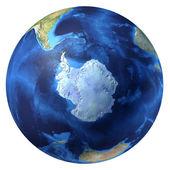 Earth globe, realistic 3 D rendering. — Stock Photo