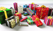 Group of gifts. — Stock Photo