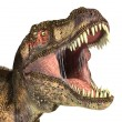 Stock Photo: Tyrannosaurus Rex dinosaur, photorealistic representation.