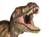 Tyrannosaurus Rex dinosaur, photorealistic representation. — Stock Photo