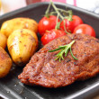 Veggie-Steak — Stock Photo