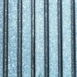 Metal texture silver color with vertical line — Stock Photo