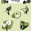 Ecological symbols — Stock Vector