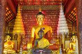 Buddha pagode wat saket in chiang mai thailand — Stockfoto