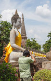 Photography travel on temple — Stock Photo