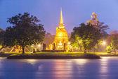 Wat skopalovaeva sukhothai — Stock fotografie
