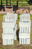 Ladrillos para la construcción — Foto de Stock