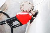 Fuel nozzle Pump Gasoline Machine — Stok fotoğraf