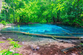 Blue water sramorakod at province south krabi thailand — Stock Photo