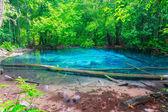 Blue water sramorakod at province south krabi thailand — Stock Photo
