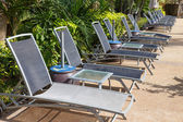 Chair for sunbathe  — Stock Photo