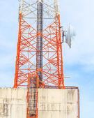 Telecommunication of transmission media — Stock Photo