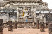 Buda wat pra sri rata ta ma na ja que en Tailandia sukhothai — Foto de Stock