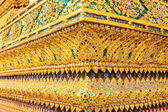 Background inside wat arun of landmark bangkok — Stock Photo