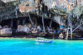 Viking Cave,krabi thailand — Stock Photo