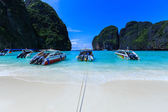 Point port for traveler to phiphi lay beach  — Stock Photo