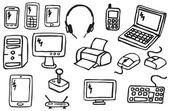 Icons - Electronics — Stock Vector