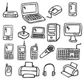Icons - Electronics — Stock Vector