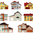 City houses — Stock Vector #30377783