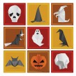 Halloween symbols — Stock Vector #32431253