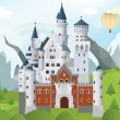 Fairytale castle — Stock Vector