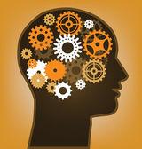Thinking man — Stock Vector
